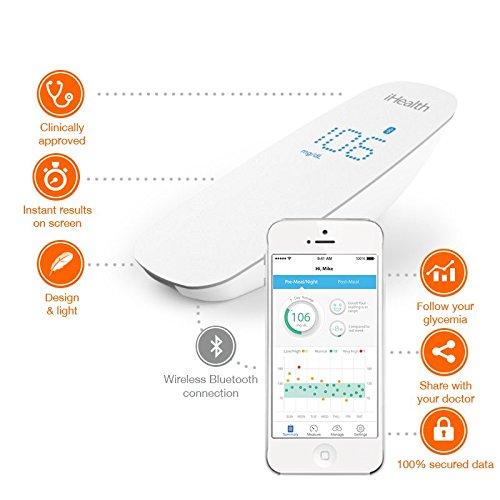 Test du glucomètre iHealth BG-5 sans fil pour iOS